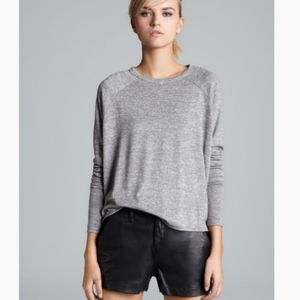 RAG & BONE LUXURIOUS LONG SLEEVE TOP NWT